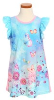 Truly Me Toddler Girl's Butterfly Print Dress