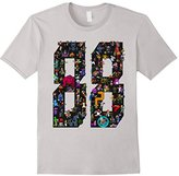 Official 88 Heroes T-shirt Design Black