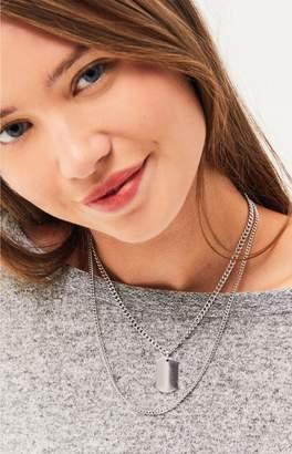 La Hearts Dog Tag Necklace