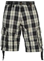 Soul Cal SoulCal Mens Deluxe Check Cargo Shorts Pants Trousers Bottoms Cotton Zip