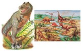 Melissa & Doug Dinosaurs and T-Rex Extra Large Floor Puzzle-2 Pack Bundle