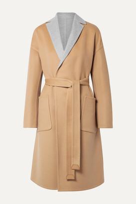 Loro Piana Reversible Belted Cashmere Coat - Beige