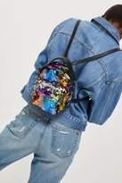 Funky sequin mini backpack