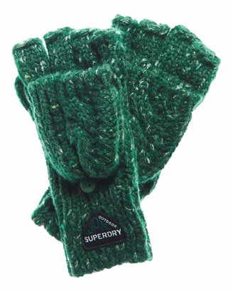 Superdry Women's Gracie Cable Cold Weather Gloves