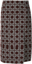 Marni dot print skirt