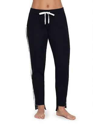 PJ Salvage Black Out Stripe Knit Jogger Pants