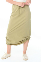 Michelle by Comune Olive Midi Skirt