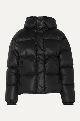 Bogner Fire & Ice BOGNER BOGNER FIREICE - Ranja Oversized Cropped Hooded Quilted Down Ski Jacket - Black