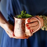 Williams-Sonoma Hammered Copper Mug