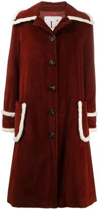 L'Autre Chose Button-Up Knitted Coat
