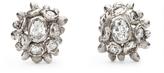 Ruth Tomlinson Diamond Cluster Stud Earrings