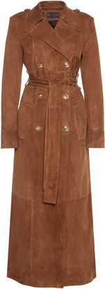 Dundas Suede Trench Coat