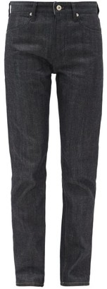 Jil Sander High-rise Straight-leg Jeans - Dark Blue
