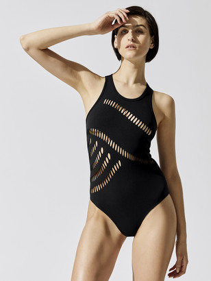 adidas by Stella McCartney Warp Knit Training Bodysuit