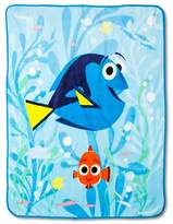 "Disney Finding Dory® Throw 50""X60"" Blue"