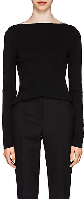 Givenchy Women's Lace-Back Knit Top - Black