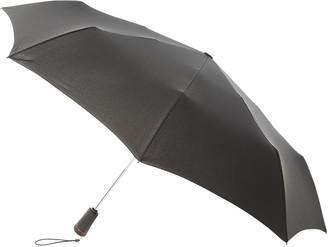 totes XTRA STRONG Auto Open/Close Umbrella, Black