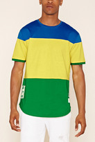 Forever 21 FOREVER 21+ Reason Colorblock Graphic Tee