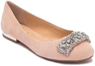 Jessica Simpson Genevia Embellished Bow Flat