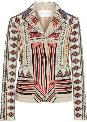 Valentino Wool And Cashmere-blend Felt Jacket