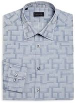 Pal Zileri Regular-Fit Barcode Dress Shirt