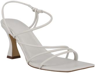 Marc Fisher Dami Strappy Kitten-Heel Sandals
