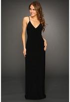 KAMALIKULTURE - Slip Maxi Gown (Black) - Apparel