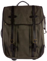 Filson Rugged Twill Leather-Trimmed Trolley