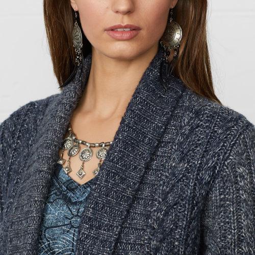 Denim & Supply Ralph Lauren Long-Sleeved Guernsey Cardigan