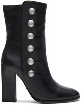 Pierre Balmain Button Bootie