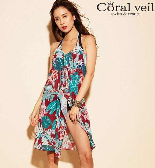 1ae02d40dee Coral One Piece Swimsuit - ShopStyle(ショップスタイル)