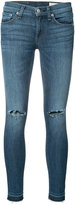 Rag & Bone Jean - distressed skinny jeans - women - Cotton/Polyester/Polyurethane - 26