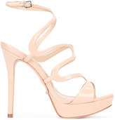 Schutz strappy heeled sandals - women - Leather/Patent Leather - 38