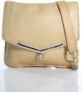 Botkier Beige Leather Crossbody Shoulder Handbag Size Small