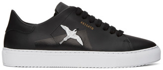 Axel Arigato Black Taped Bird Clean 90 Sneakers