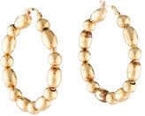 Faraone Mennella 18K Bead Hoop Earrings