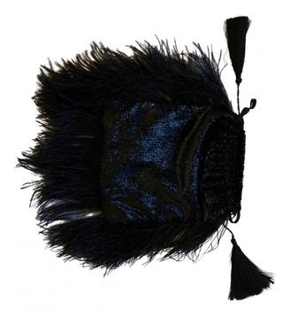 ATTICO Black Polyester Clutch bags