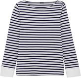 J.Crew Striped Cotton Top - small