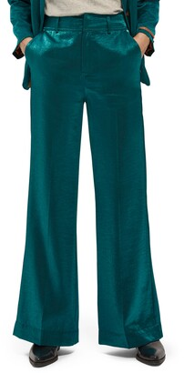 Scotch & Soda High Waist Wide Leg Pants