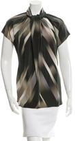 Derek Lam Striped Silk Top