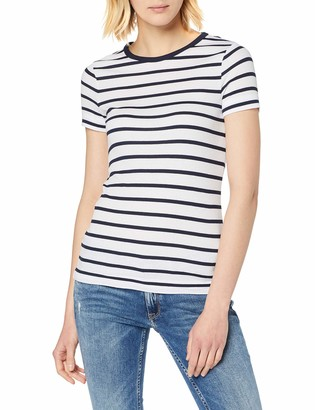 Tommy Hilfiger Women's TH Skinny Rib TEE SS T-Shirt