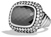 David Yurman Waverly Limited-Edition Ring with Hematine and Grey Diamonds