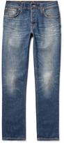 Nudie Jeans Grim Tim Slim-Fit Selvedge Stretch-Denim Jeans