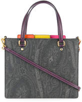 Etro paisley patterned organiser tote