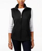 Karen Scott Petite Quilted Vest, Only at Macy's