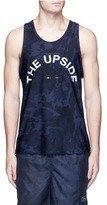 The Upside 'Navy Seals' camouflage print performance tank top