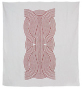 Hawkins New York + Meg Callahan Knot Quilt - Red