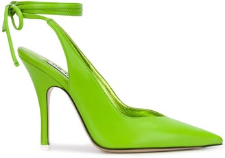 The Attico Pointed High Heel Pumps