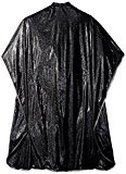 Betty Dain Hair Stylist Shampoo Cape 36x54 Black Velcro by #306