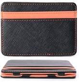 WER Men's Magic Credit ID Card Money Clip Slim Cash Wallet Holder MT179